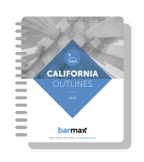 California Outlines Notebook