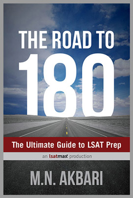 Road to 180 LSAT Book