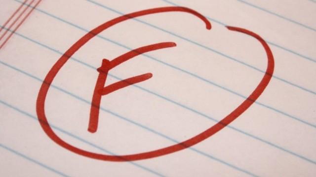 Failing bar exam essays