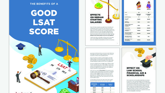Benefits of a Good LSAT Score whitepaper cover