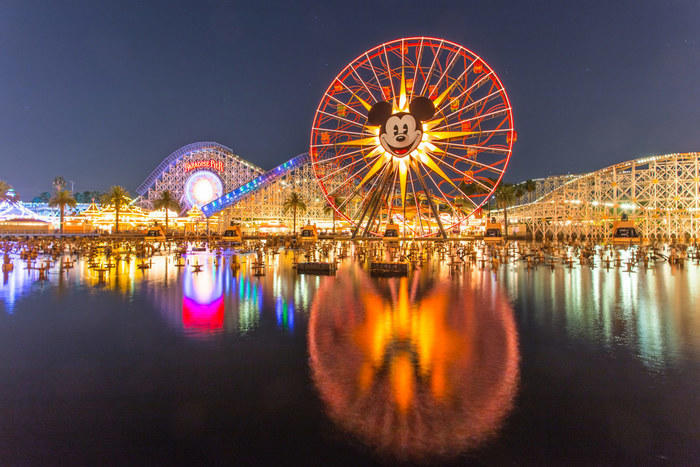 Disneyland near Garden Grove, California