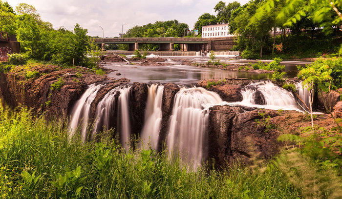 Waterfall in Paterson, New Jersey