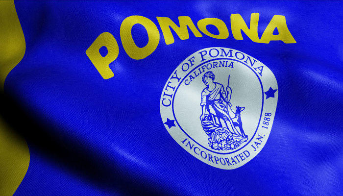 Pomona, CA city flag