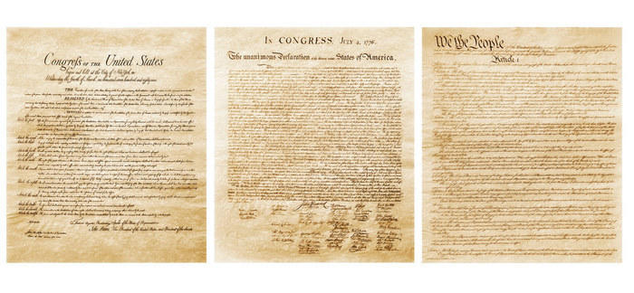 United States constitution document