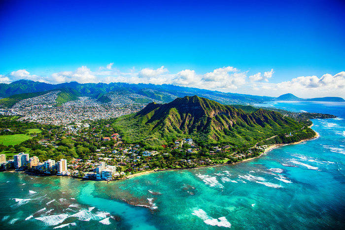 Diamond Head in Honolulu