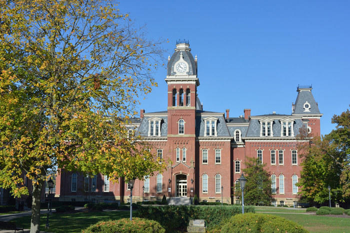 Woodburn Hall at West Virginia University